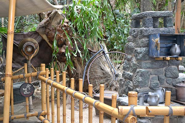 Hiwheel in Tarzan's Treehouse, Disneyland