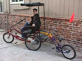 ... Side-by-Side Team Dual Trike & Tricycles - Side-by-Side Team Dual Trike - Rideable Bicycle Replicas